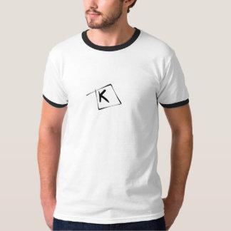 パブロA. Cuadra著手紙K Tシャツ