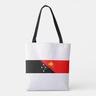 パプアニューギニアの国旗の国家の記号 トートバッグ