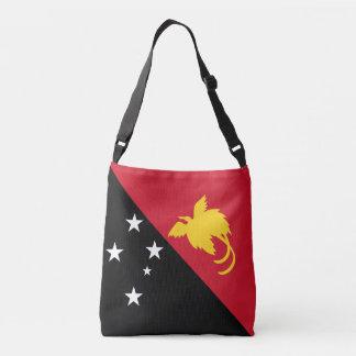 パプアニューギニアの旗 クロスボディバッグ