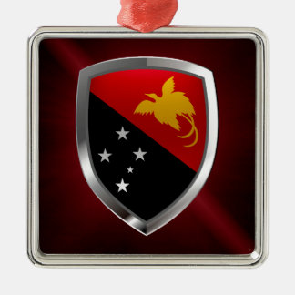 パプアニューギニアの金属紋章 メタルオーナメント