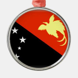 パプアニューギニア メタルオーナメント