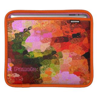 パメラの多彩なiPadの袖 iPadスリーブ