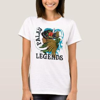 パラオ諸島のカメ及び腰蓑の伝説 Tシャツ