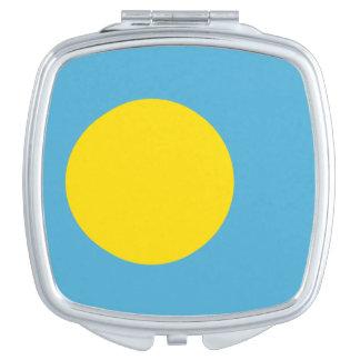 パラオ諸島の正方形の密集した鏡の旗