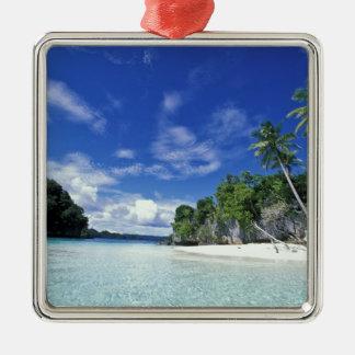 パラオ諸島の石の島、新婚旅行の島、世界 メタルオーナメント
