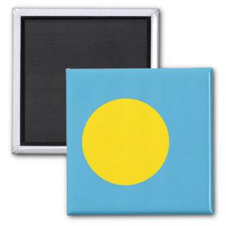 パラオ諸島の磁石の旗 マグネット