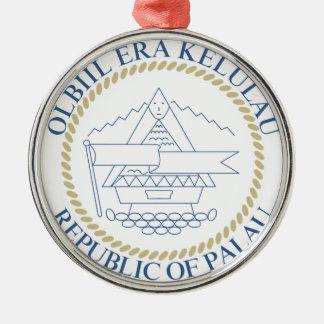 パラオ諸島の紋章付き外衣 メタルオーナメント
