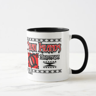 パラオ諸島の赤い種族 マグカップ