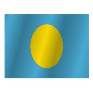パラオ諸島は印を付けます ポストカード