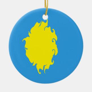パラオ諸島|すごい|旗 クリスマスツリーオーナメント