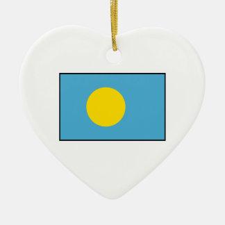 パラオ諸島- Palauanの旗 セラミックオーナメント