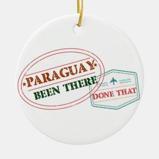 パラグアイそこにそれされる セラミックオーナメント