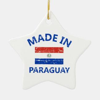 パラグアイで作られる セラミックオーナメント
