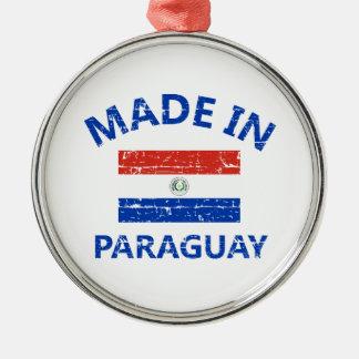 パラグアイで作られる メタルオーナメント