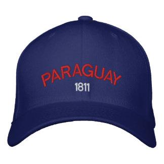 パラグアイのカスタムな野球帽 刺繍入りキャップ