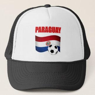 パラグアイのサッカーのTシャツ キャップ