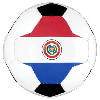 パラグアイのサッカーボールの旗 サッカーボール