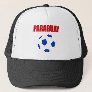 パラグアイのフットボールのTシャツ キャップ
