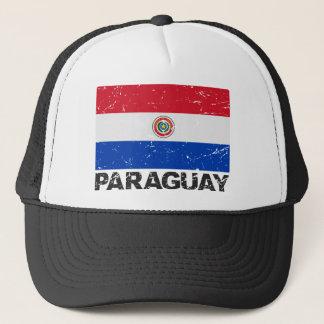 パラグアイのヴィンテージの旗 キャップ