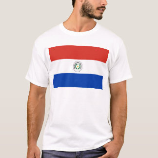 パラグアイの世界の旗 Tシャツ