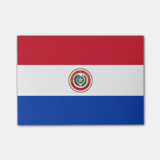 パラグアイの後it®ノートの旗 ポストイット