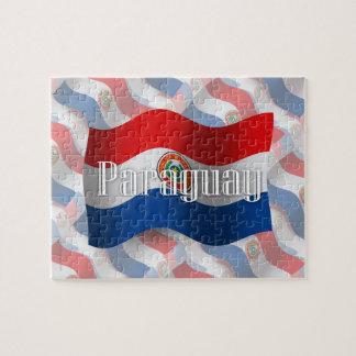 パラグアイの振る旗 ジグソーパズル