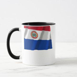 パラグアイの振る旗 マグカップ