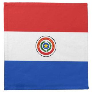 パラグアイの旗のナプキン ナプキンクロス
