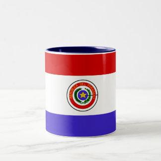 パラグアイの旗のマグ ツートーンマグカップ