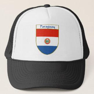 パラグアイの旗の盾 キャップ