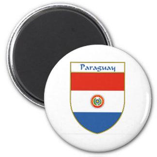 パラグアイの旗の盾 マグネット