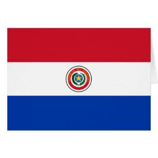 パラグアイの旗 カード