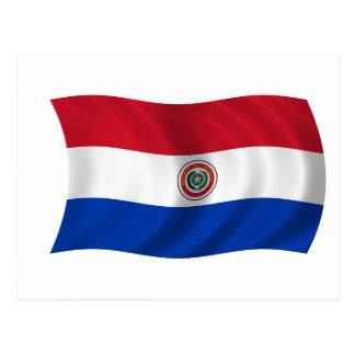 パラグアイの旗 ポストカード