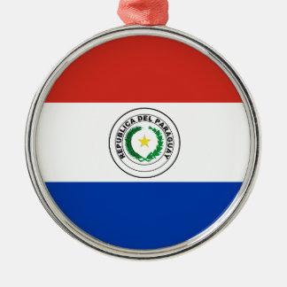 パラグアイの旗 メタルオーナメント