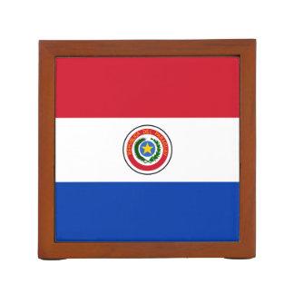 パラグアイの机のオルガナイザーの旗 ペンスタンド