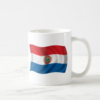 パラグアイの波状の旗 コーヒーマグカップ