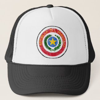 パラグアイの紋章付き外衣 キャップ