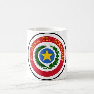 パラグアイの紋章付き外衣 コーヒーマグカップ