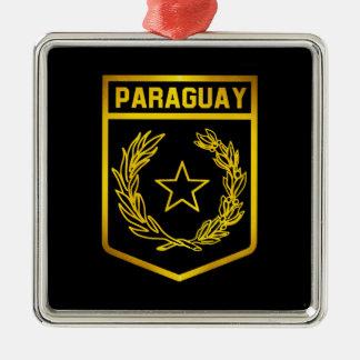 パラグアイの紋章 メタルオーナメント