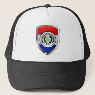 パラグアイの金属紋章 キャップ
