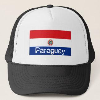 パラグアイのparaguayanの旗のトラック運転手の網の記念品の帽子 キャップ