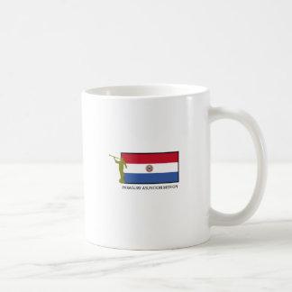 パラグアイアスンシオンの代表団LDS CTR コーヒーマグカップ