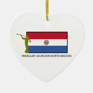 パラグアイアスンシオンの北の代表団LDS CTR セラミックオーナメント