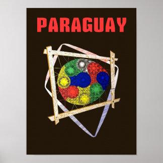 パラグアイ旅行ポスター ポスター