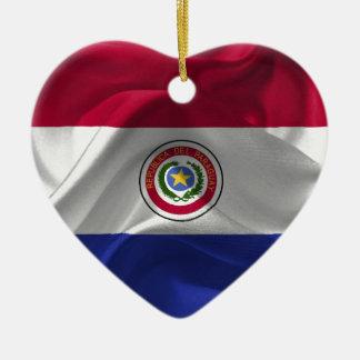 パラグアイ旗 セラミックオーナメント