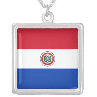 パラグアイ シルバープレートネックレス