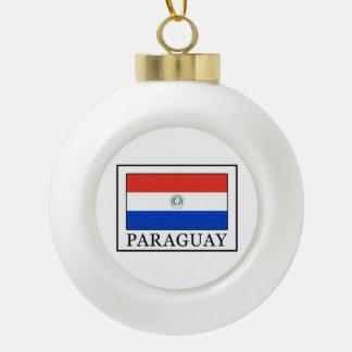 パラグアイ セラミックボールオーナメント