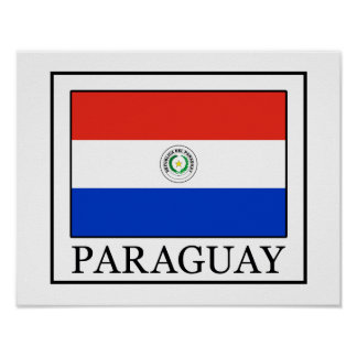 パラグアイ ポスター