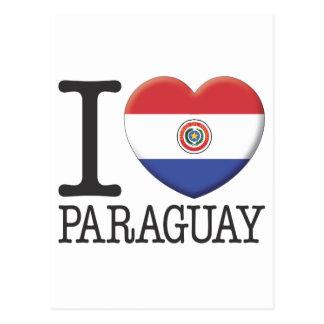 パラグアイ ポストカード