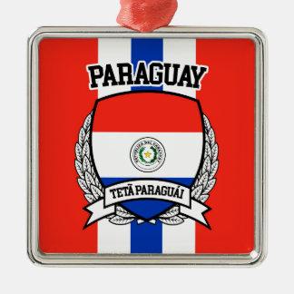 パラグアイ メタルオーナメント